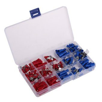 200Pcs Assorted Insulated Crimp Terminals Set Electrical WiringConnectors