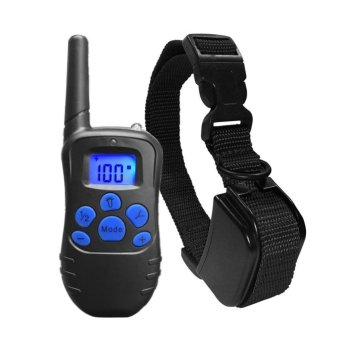 330 yd Remote Training Dog Collar Rechargeable Rainproof - intl