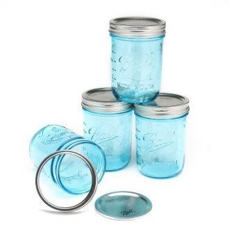 Ball Blue Pint Jars 4s Wide Mouth
