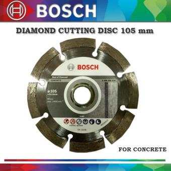 BOSCH DIAMOND CUTTING DISC 105 MM FOR CONCRETE