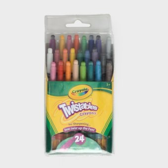 Crayola Twistable Crayons 24s
