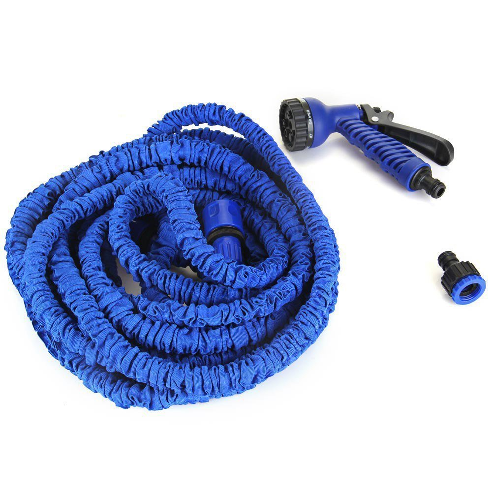 Expandable Garden Hose up to 75 ft Blue Lazada PH
