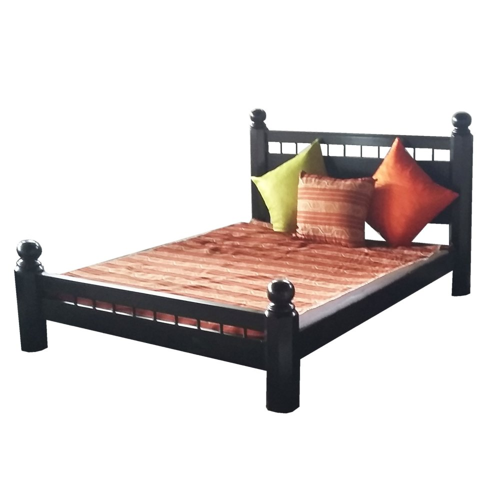Bedz King Bunk Bed Twin Over Twin  Wooden Storage