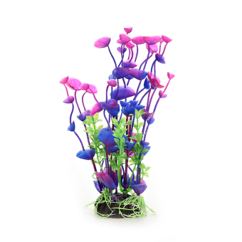 HKS Artificial Water Grass Purple Plant Leaves (Intl)