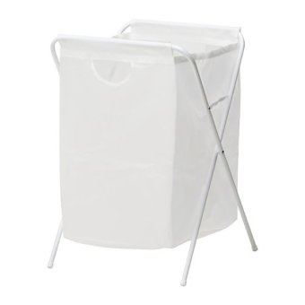 Ikea Jall Laundry Bag Stand (White)