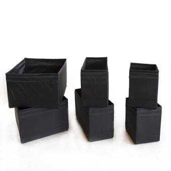 ikea skubb box set of 6 black lazada ph. Black Bedroom Furniture Sets. Home Design Ideas