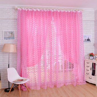 Pink Window Curtains for sale | Lazada Philippines
