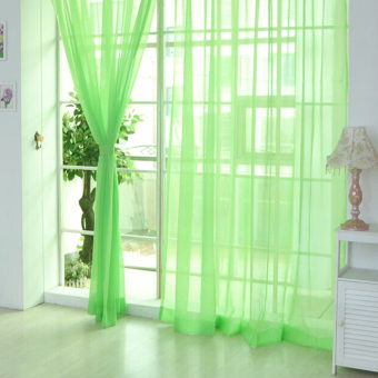 Green Curtains apple green curtains : Blue Fashionable Curtain for sale | Lazada Philippines