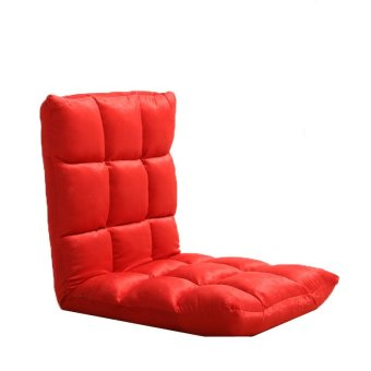 Japanese style folding lazy sofa bed red lazada ph for Sofa bed lazada
