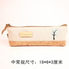 Jianyue canvas pencil multi-function pencil case stationery box