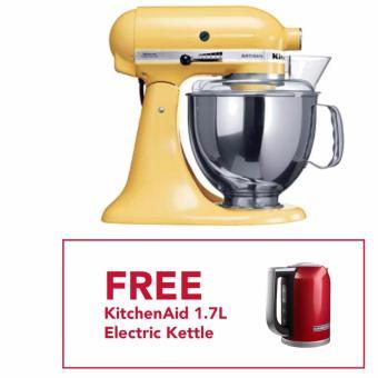 kitchenaid artisan stand mixer majestic yellow kitchen xcyyxh com - Kitchenaid Artisan 5qt Stand Mixer