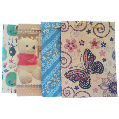 Kraft Paper Gift Bag with Assorted Designs XSmall OCC - Set of 4A 30e0fc51ee1fc