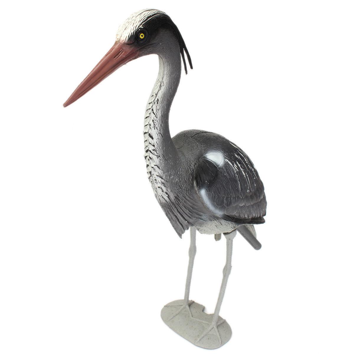 Heron garden ornament - Large Plastic Resin Decoy Heron Garden Ornament Bird Scarer Fish Pond Koi Carp Lazada Ph