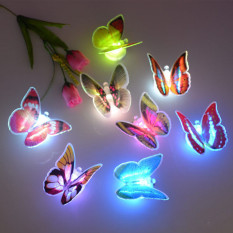 Led Butterfly Decorative Light Romantic Home Room Wall Lamp Decoration