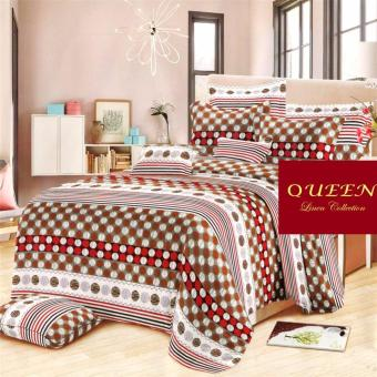 Queen Classic Linen Collection Fitted Bedsheet Set of 3(AOIE-060)