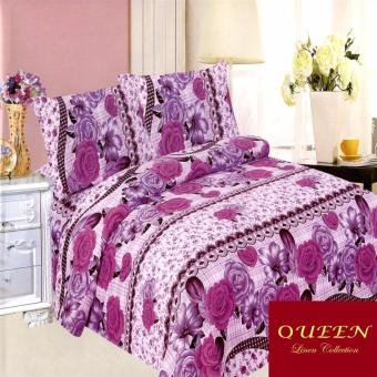 Queen Classic Linen Collection Fitted Bedsheet Set of 3(AOIE-065)