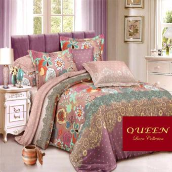 Queen Classic Linen Collection Fitted Bedsheet Set of 3(AOIE-067)
