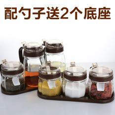 360DSC Stainless Steel Seasoning Container Condiment Pot Salt Source · Salt shaker seasoning containers home sauce bottle storage box seasoning box