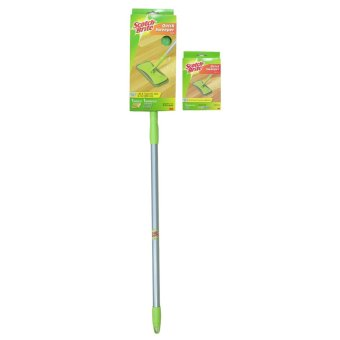 Scotch-Brite Quick Sweeper Starter Kit (Green) with Refill