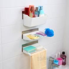 Original  Of Bathroom Shelf 4Tier Multifunctional Storage Rack Shelving Unit