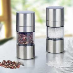 Stainless Steel Manual Salt Pepper Mill Grinder Seasoning Muller Pepper Mill Kitchen Cooking Tools - intl