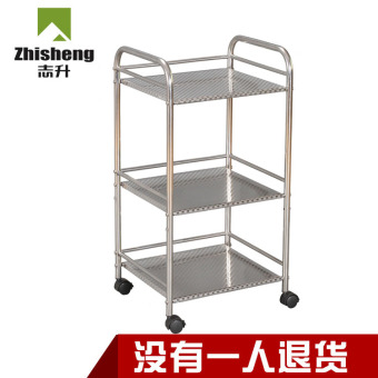 Stainless steel metal storage rack kitchen shelf