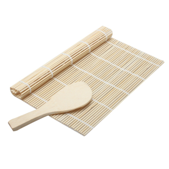 Sushi Rolling Roller Bamboo Material Mat Maker Diy And A