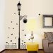 Warm cartoon bedroom lights living room wardrobe stickers wall sticker