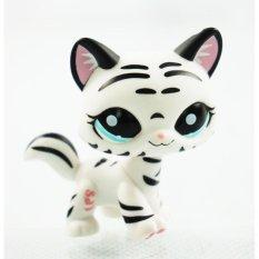 Girl toys Blue Eyes Littlest Pet Shop LPS 1498 Kids Toys Kitty Animals .