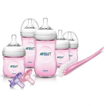 Avent Natural Infant Starter Set (Pink)