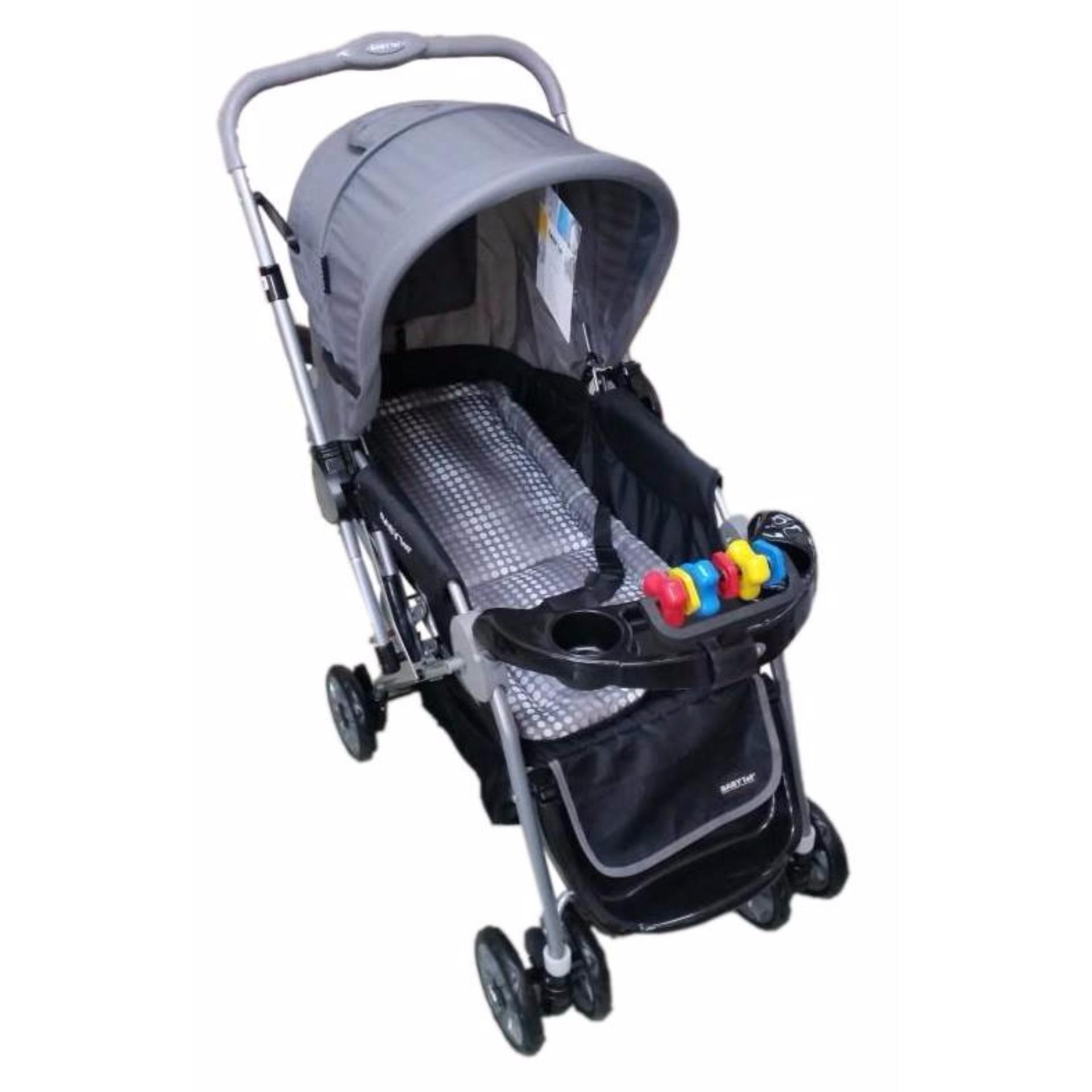 Crib for sale tarlac - Baby 1st Cd S036b Stroller W Toy And Reversable Handle Grey