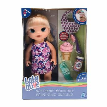Baby Alive Magical Scoopy Doll