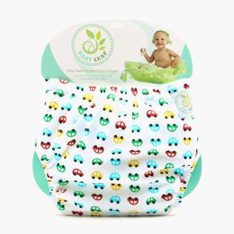 Baby Leaf Cars Cloth Diaper