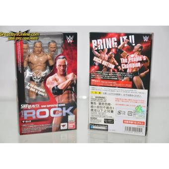 "Bandai 4549660094524 S.H.Figuarts ""WWE"" The Rock Action Figure ORIGINAL*"