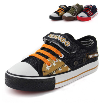 Baobao boy's girls shoes children canvas shoes