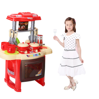Fisher price kitchen set red lazada ph for Best kitchen set for 4 year old