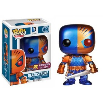 Funko Pop! Heroes 49 DC Comics Deathstroke PX Preview Exclusive Vinyl Figure