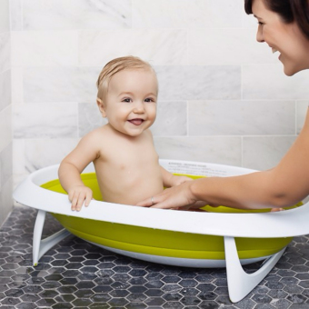 gmy two possition collapsible baby bathtub green lazada ph. Black Bedroom Furniture Sets. Home Design Ideas
