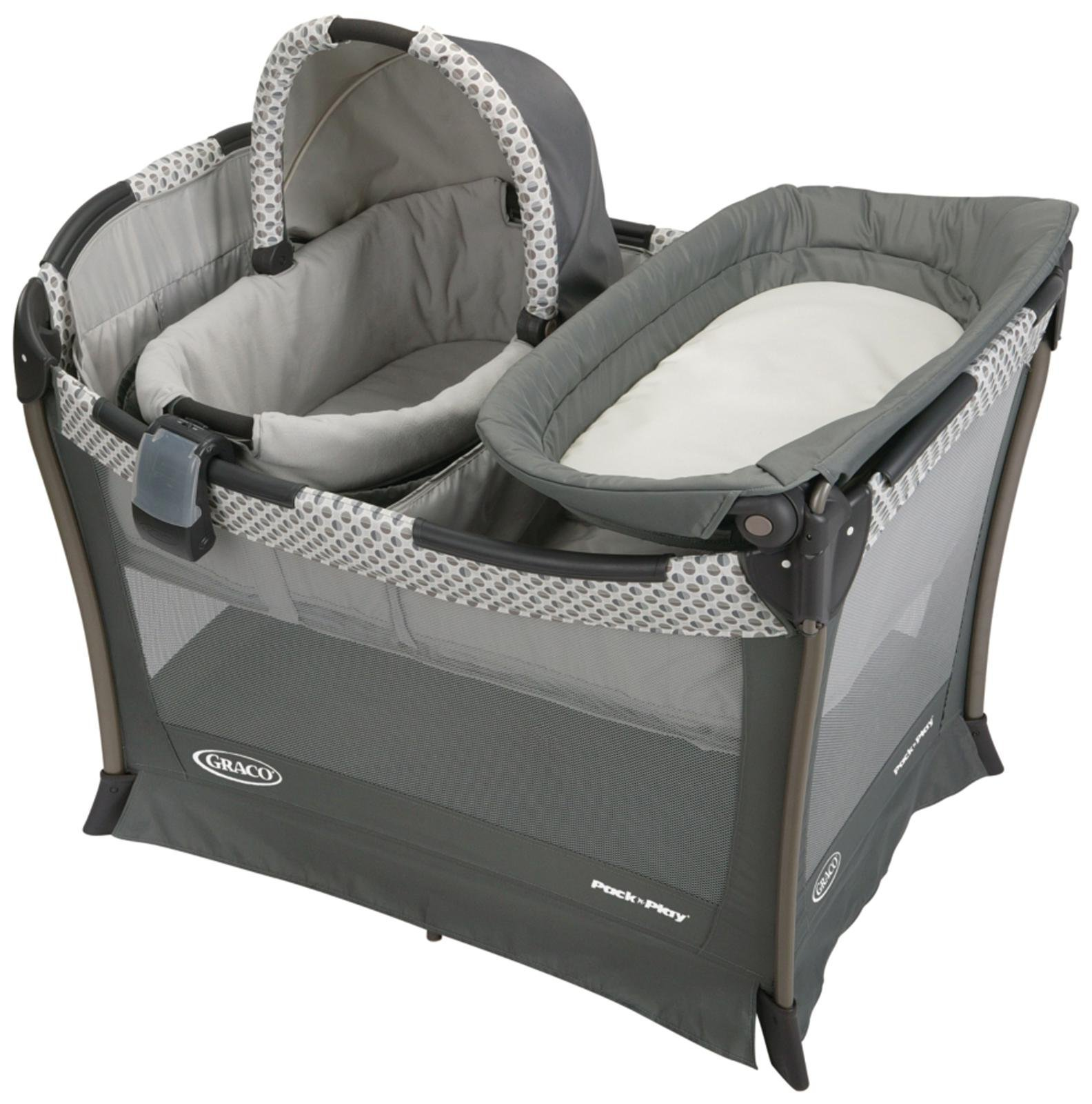 Crib for babies philippines - Graco Pack N Play Playard Fifer Passion Cradle Multicolor