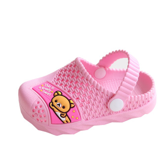 Indoor cute girls new non-slip boy's sandals shoes children's slippers