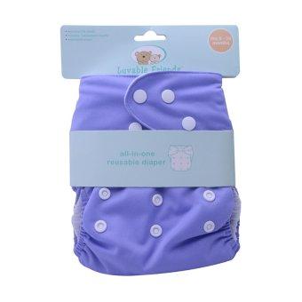 Luvable Friends Reusable Diaper (Purple)
