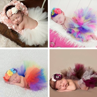do it yourself newborn baby girl color lace tutu dress with newborn baby girl color lace tutu dress with headwear photography props new born baby photo shoot props fotografia accessories intl solutioingenieria Images