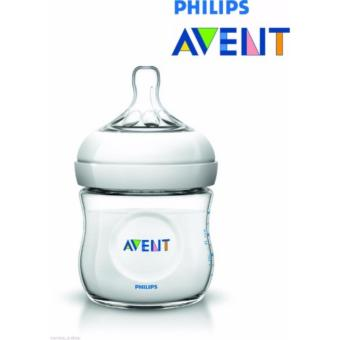 Philips Avent SCF 690/17 125ml-4oz Natural Feeding Bottle BPA Free0 months (Clear)