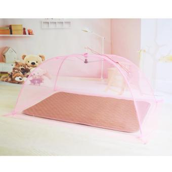 Pink Plain Mosquito Net for Baby