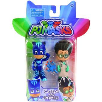 PJ Masks Figure Pack set Catboy and Romeo