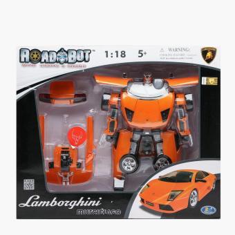 Road Bot Lamborghini Murcielago Transforming Robot