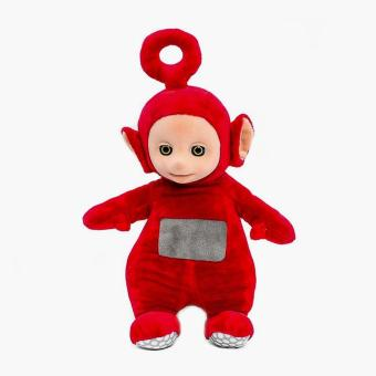Teletubbies Laugh & Giggle Po Touch Reactive Soft Toy