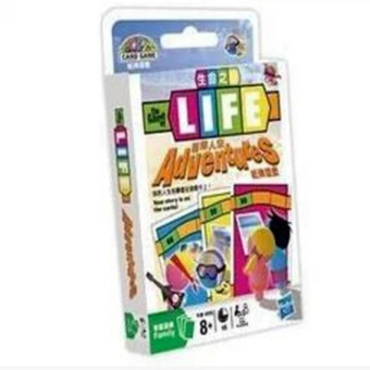 The Game of Life Adventures Card Board Cards Game