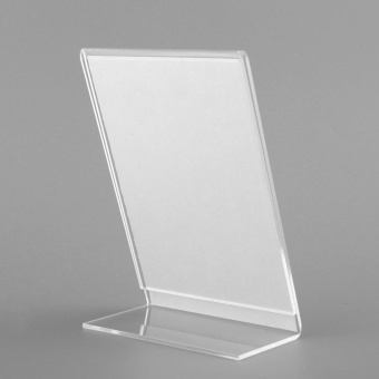 Acrylic Plastic Poster Menu Holder Perspex Leaflet Display Stands A6 COLLEGE - intl