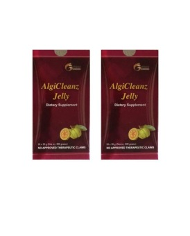 Algicleanz Jelly Garcinia Cambogia in a Jelly Lose Weight Pack of 2